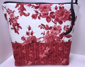 LARGE Waterproof Bag, Wet Bag, Tall Zipper Pouch, Large Project Bag, Big Cosmetics Case