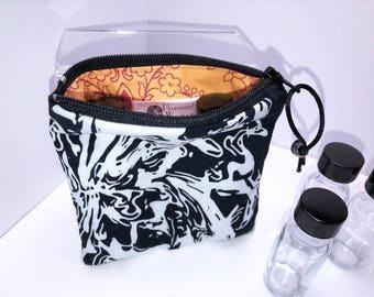 Oil Slick Essential Oil Pouch, Essential Oil Case, Vape Juice Bag, 2-3 Bottle Young Living Oil Bag, Doterra Essential Oil Travel Case