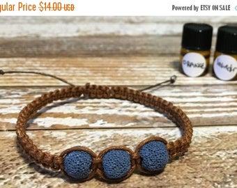 SALE Essential Oil Diffuser Bracelet / Lava Rock Bracelet / Healing Bracelet / Diffuser Bracelet