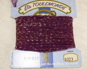 Collar 1023 tonkin embroidery threads