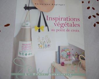 Vegetal inspiration Véronique Enginger cross stitch