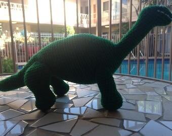 Green Dinosaur, Kelly Green Brachiosaur, Brian the Brachiosaurus, Dinosaur Lovey, Brachiosaurus Plushie, Brontosaurus Plushie, Dinosaur Doll