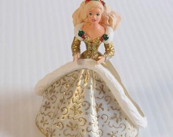 Vintage 1994 Holiday Barbie Ornament Hallmark Keepsake