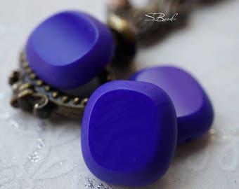 Royal Blue, Czech Beads, N1943