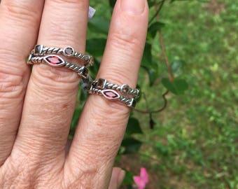 Multi-stone ring size 6