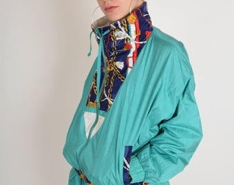 Vintage Jacket Festival 90's Size L (2366)