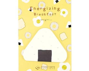 Cute Onigiri / Japanese Riceball Sticky Memo Paper / Removable Notes / Post-it