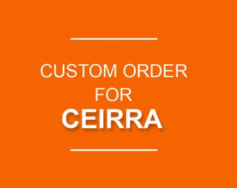CUSTOM SCROLL SAW order for Ceirra out wood last name Grieser