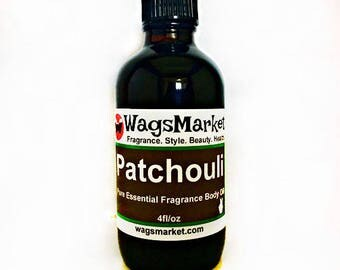 Patchouli Oil, Roll On Bottle, 1/3oz, 1oz, Pure Essential Oil, Fragrance Oil