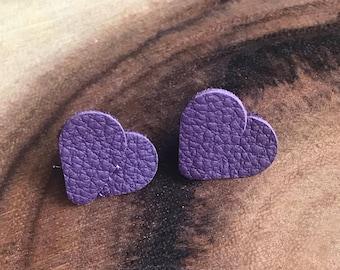 All My Heart Leather Earrings