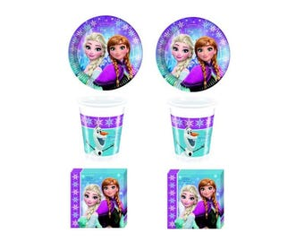 Kit birthday party Disney-Kit n 2 Frozen