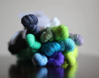 Embroidery mini skeins - kit 1