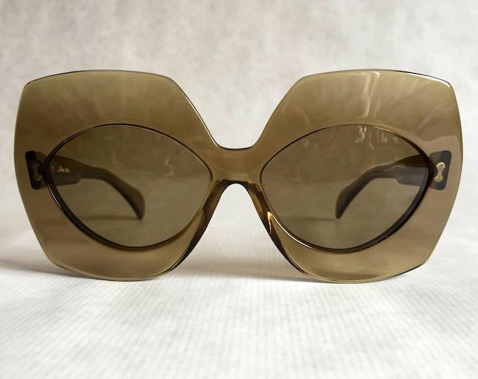 Serge Kirchhofer Mod. 468 Vintage Sunglasses Made in Austria New Unworn Deadstock