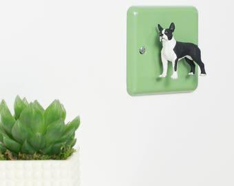 Boston Terrier Light Switch - Nursery Light Switch - Bedroom Light - Nursery Decor - Wall Decor -Boston Terrier Gift - Boston Terrier Art