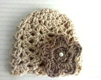 Beanie Baby wool flower decor