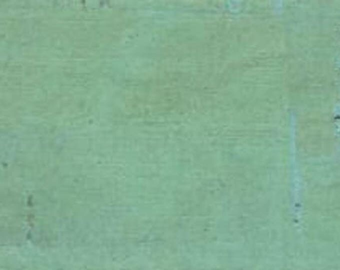 Mint Cork Fabric