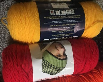 Bernat Super Value Yarn, assorted colors