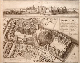 Poster, Many Sizes Available; Windsor Castle 17Th Century