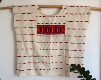 Huipil from Oaxaca, made in waist loom