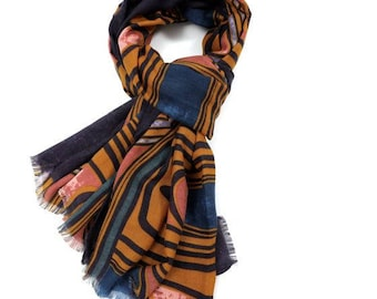 Beautiful Winter Picasso Scarf
