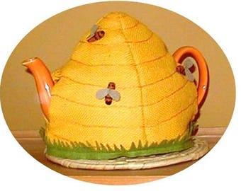 Unique Vintage Design Honey Bee Hive Tea Cosy