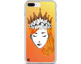 Fire Goddess Hestia - iPhone 6 / iPhone 6 Plus / iPhone 6s / iPhone 6s Plus / iPhone 7 / iPhone 7 Plus / iPhone 8 / iPhone 8 Plus / X