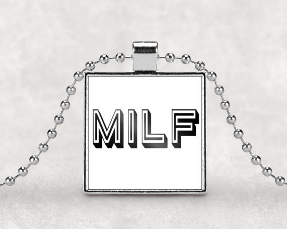 MILF pendant necklace