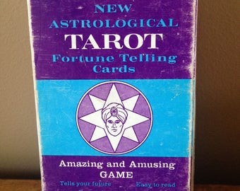 Vintage Zolar's Tarot Astrology Fortune Telling Deck