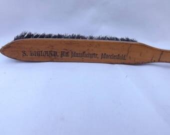 Hat Maker's Brush, Advertising item probably Victorian