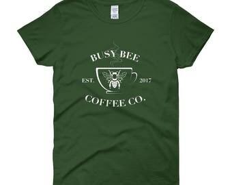 Busy Bee Coffee Company Women's short sleeve t-shirt