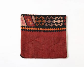 16x16 Kilim Pillow Cover