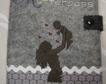 Mother pass-cover/cover made of felt/manual work