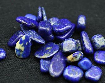 ONE Bag of Lapis Lazuli polished nuggets - Mineral Specimens/Gemstones for Sale