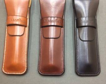 Beautiful Leather Single Pen Case