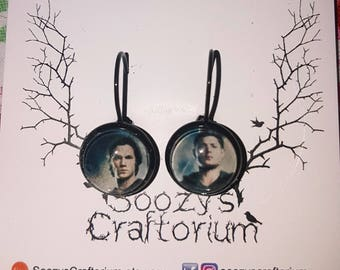 Sam and Dead - Supernatural - Drop Earrings