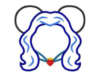 Character Mouse Simple Evie Wicked Embroidery Applique Design - Quick and Easy Design