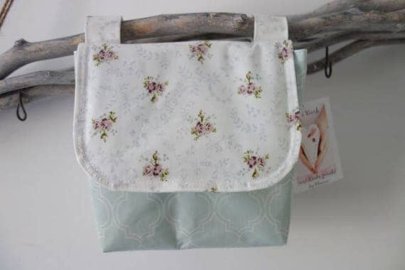 Waterproof handlebar bag from au maison oilcloth for Au maison oilcloth ireland