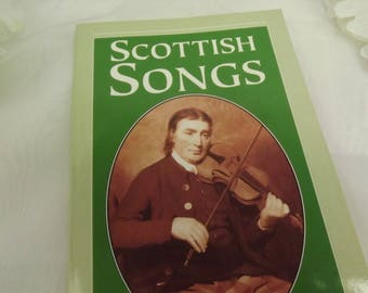 Scottish Songs Paperback, Includes Words & Music, Auld Lang syne, The Campbell's are Coming.., Ho- Ro My Nut Brown Maiden etc