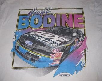 GEOFF BODINE 90s NASCAR shirt - sz xl - vintage racing tee