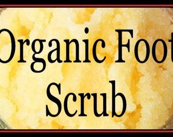 Organic Foot Scrub