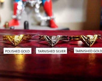 Custom Wonder Woman  Movie Tiara Ring