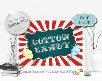 cotton candy sign etsy