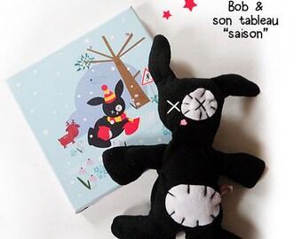 Birthday gift: blanket & table child's room