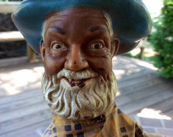 Vintage 50's/Gabby Hayes/hand puppet toy.