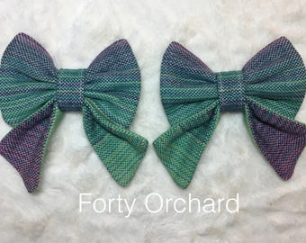 Free to grow tula reach strap snap on bow embellishments bows
