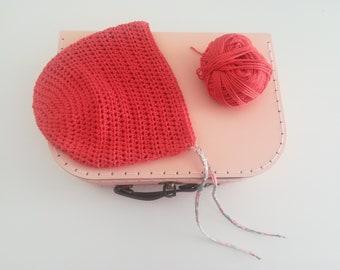 "Children's hat-baby hat-baby bonnet-crochet hat-children's gift idea-""Fleur"" hat"