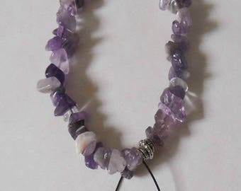 Bracelet Amethyst gemstones
