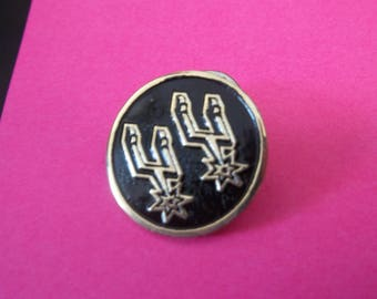 076# SAN ANTONIO SPURS Hat Pin made by Wilson Metal Company