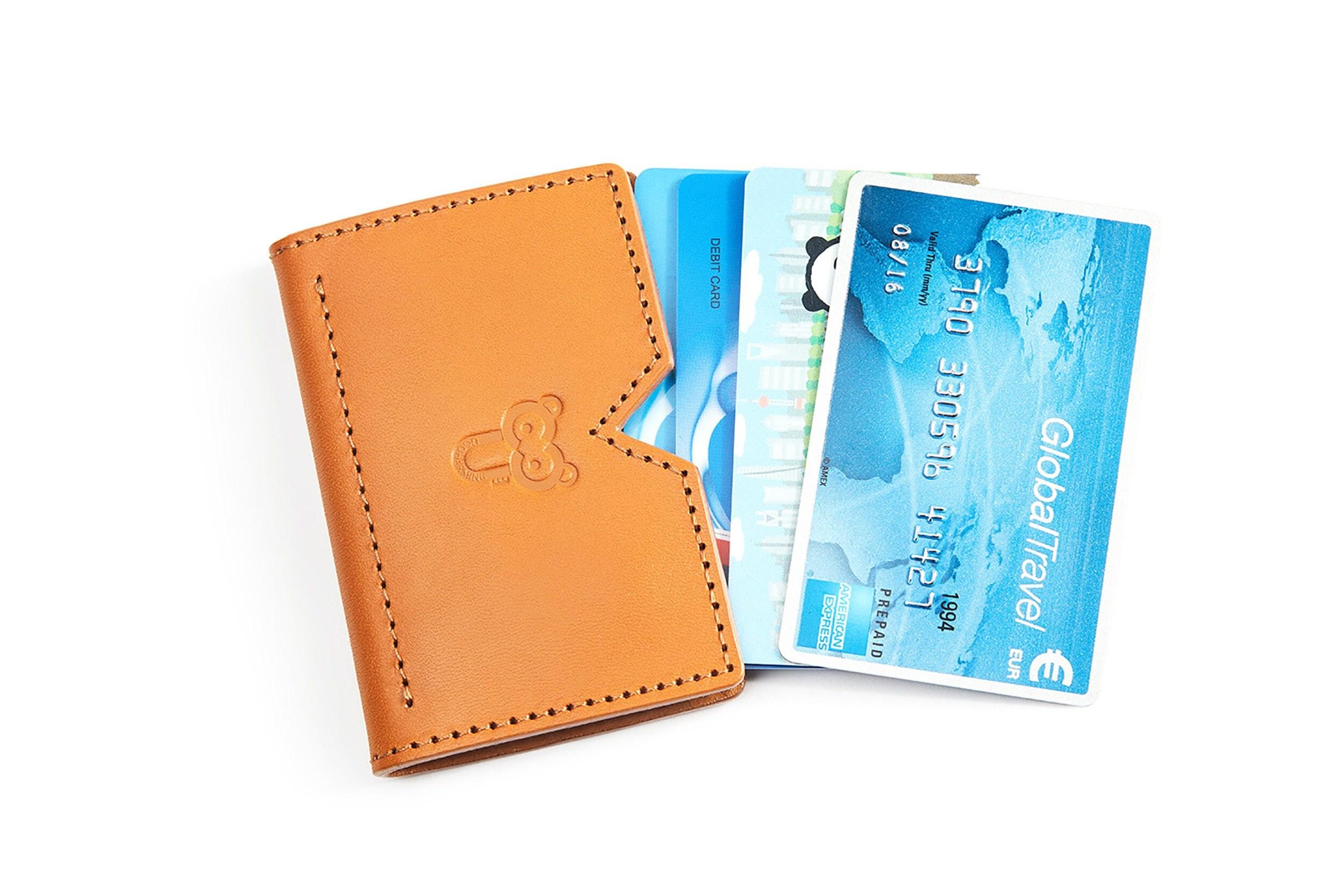 reindeer business card holder business card case credit card case