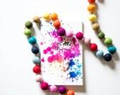 Splatter Pregnancy Journal (Softcover)